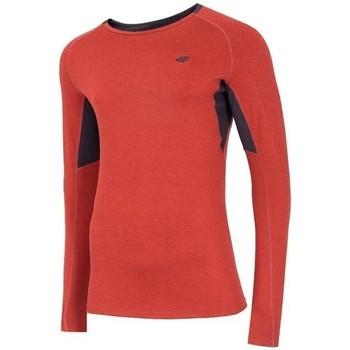 Vêtements Homme T-shirts manches longues 4F TSMLF002 Orange