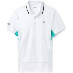 Vêtements Homme Polos manches courtes Lacoste Polo  - Blanc