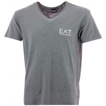 Vêtements Homme T-shirts manches courtes Ea7 Emporio Armani Tee-shirt EA7 Gris
