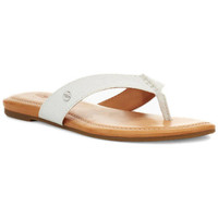 Chaussures Femme Tongs UGG Tong  TUOLUMNE Blanc