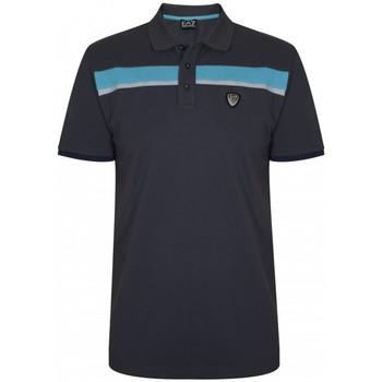 Vêtements Homme Polos manches courtes Emporio Armani EA7 Polo EA7 Emporio Gris