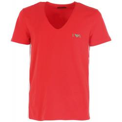 Vêtements Homme T-shirts manches courtes Ea7 Emporio Armani Tee-shirt -Neck Rouge