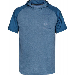 Vêtements Homme T-shirts manches courtes Under Armour Tee-shirt Under Bleu