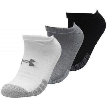 Accessoires Homme Chaussettes Under Armour Pack 3 paires de Blanc