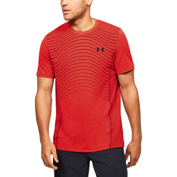 Vêtements Homme T-shirts manches courtes Under Armour Tee-shirt Under Rouge