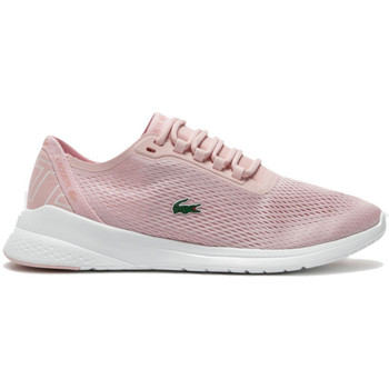 Chaussures Femme Baskets basses Lacoste Basket  LT Rose