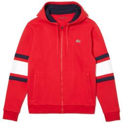 Vêtements Homme Sweats Lacoste Sweat à capuche Rouge