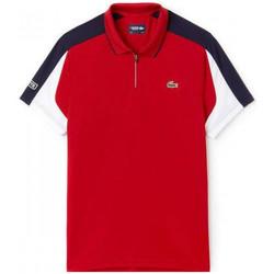 Vêtements Homme Polos manches courtes Lacoste Polo  - Rouge