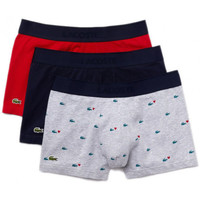 Sous-vêtements Homme Boxers Lacoste Pack de 3 boxers Gris