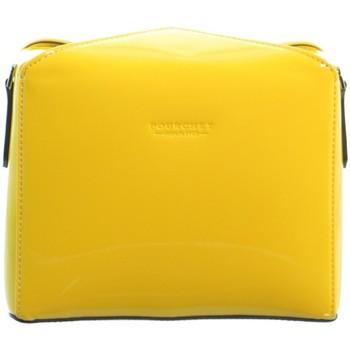 Sacs Femme Sacs Bandoulière Pourchet Sac porté travers  ref_41941 Jaune 19*15*6 jaune