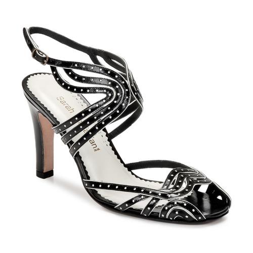 Chaussures Femme Sandales et Nu-pieds Sarah Chofakian WINGS Noir / Or