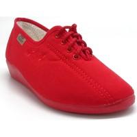 Chaussures Femme Chaussons Maison De Lespadrille 2336 ROUGE