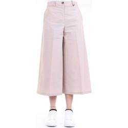 Vêtements Femme Pantacourts Cappellini M04919 Pantalon femme Beige Beige