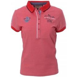 Vêtements Femme Polos manches courtes Les voiles de St Tropez V8POW01-902 Rouge