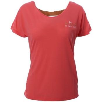 Vêtements Femme T-shirts manches courtes Les voiles de St Tropez V8TSW02-XCM Rose