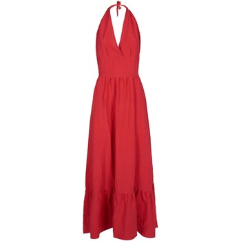 Vêtements Femme Robes longues Yes Zee A414-E400 Rouge