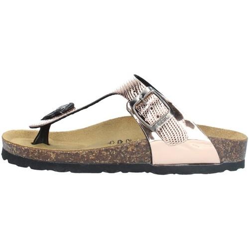 Chaussures Fille Tongs Biochic 4031S Doré