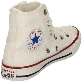 Chaussures Fille Baskets montantes Converse 668030C BLANC