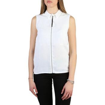 Vêtements Femme Chemises / Chemisiers Armani jeans - 6y5c03_5ndhz Blanc