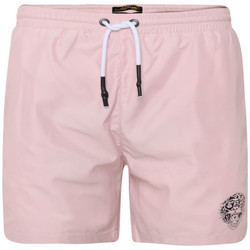 Vêtements Homme Maillots / Shorts de bain Ed Hardy - Roar-head swim short dusty pink Rose