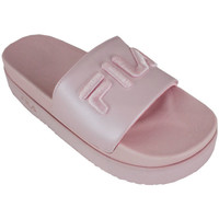 Chaussures Femme Claquettes Fila morro bay zeppa f wmn pink Rose