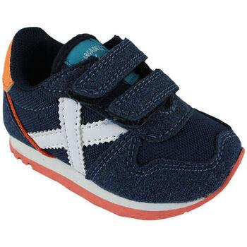 Chaussures Garçon Baskets basses Munich baby massana vco 8820348 Bleu