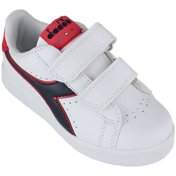 Chaussures Enfant Baskets basses Diadora game p ps c8627 Rouge