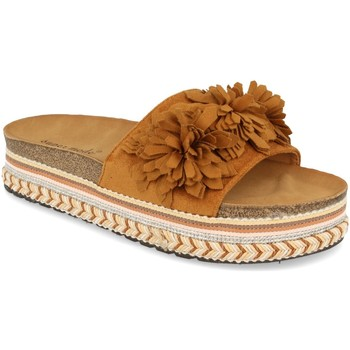 Chaussures Femme Mules Ainy 9420 Camel