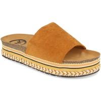 Chaussures Femme Mules Woman Key CZ-10095 Camel