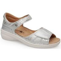 Chaussures Femme Sandales et Nu-pieds Calzamedi SANDALE MODE PLATINE