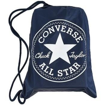 Sacs Femme Sacs à dos Converse Cinch Bag Blanc,Bleu marine