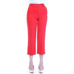 Vêtements Femme Pantalons 5 poches Lanacaprina PF2235 Rouge