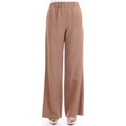 Vêtements Femme Pantalons fluides / Sarouels Lanacaprina PF2303 Terre