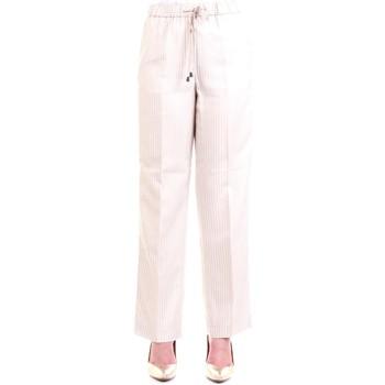 Vêtements Femme Pantalons 5 poches Cappellini 59M04250U Pantalon femme Beige Beige