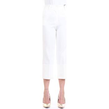 Vêtements Femme Pantalons 5 poches Lanacaprina PF2235 blanc