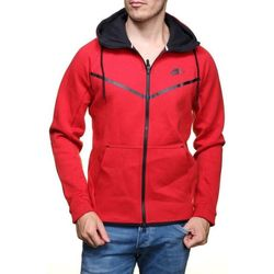 Vêtements Homme Sweats Nike Sweat  Tech Rouge