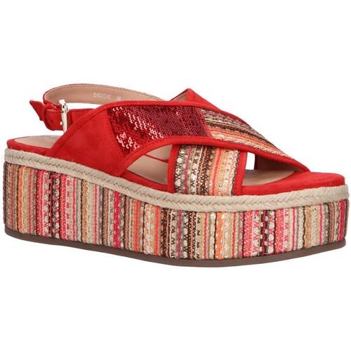 Chaussures Femme Sandales et Nu-pieds Geox D92CXE 021DS D SHAKIMA Rojo