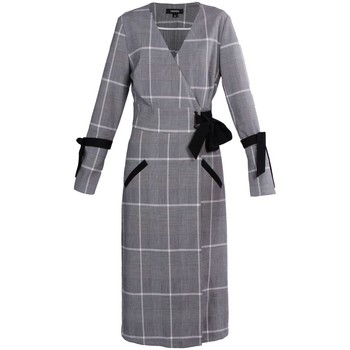 Vêtements Femme Robes longues Smart & Joy ANDROMEDA Gris chiné