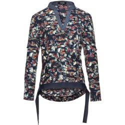 Vêtements Femme Tops / Blouses Smart & Joy CARLINE Bleu nuit