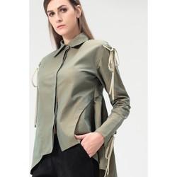 Vêtements Femme Tops / Blouses Smart & Joy GAILLET Vert olive