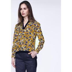 Vêtements Femme Tops / Blouses Smart & Joy CARLINE Moutarde