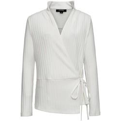 Vêtements Femme T-shirts manches courtes Smart & Joy JASMIN Ecru