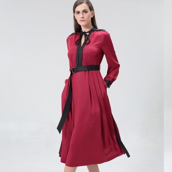 Vêtements Femme Robes longues Smart & Joy LUNAIRE Bordeaux