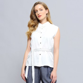 Vêtements Femme Chemises / Chemisiers Smart & Joy ERABLE Blanc