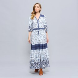 Vêtements Femme Robes longues Smart & Joy GLYCINE Multicolore