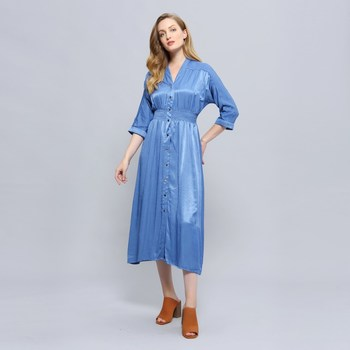 Vêtements Femme Robes Smart & Joy IDESIA Bleu