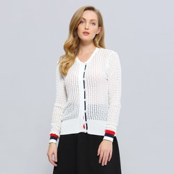 Vêtements Femme Gilets / Cardigans Smart & Joy MYRTE Blanc