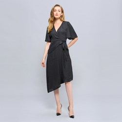Vêtements Femme Robes Smart & Joy VIGNE Noir