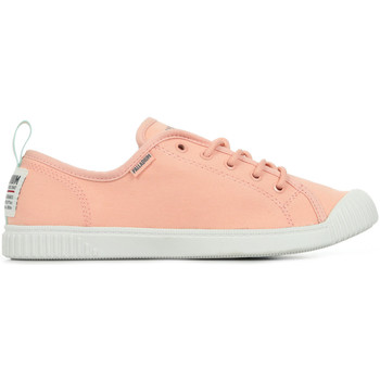 Chaussures Femme Baskets mode Palladium Manufacture Easy Lace rose