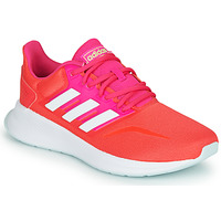 Chaussures Femme Baskets basses adidas Performance RUNFALCON Rouge / Rose